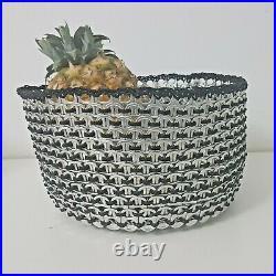 Recycled Soda Pop Tab/Pull Tab Basket/Fruit Basket/Decor Basket/ Upcycled Basket