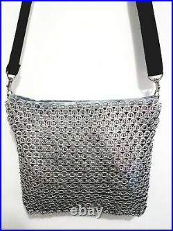 Soda Pop Tab Shoulder Bag/ Pull Tab Bag/Messenger Bag/Gift For Women