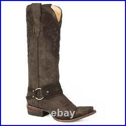 Stetson Ladies Lilith Vintage Aztec Brown Boots 12-021-6115-1279