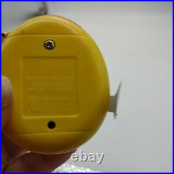 Tamagotchi RARE Yellow 2004 BANDAI Wiz. New with pull tab. Never been started
