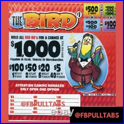 The Bird 1935 Pull Tabs $1 Each $415 Profit Fundraiser Free Shipping