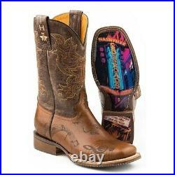 Tin Haul Ladies Nashville Burnished Tan Boots 14-021-0077-1405