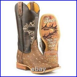 Tin Haul Men's The Gospel John 316 Brown Boots 14-020-0077-0426