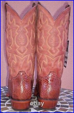 Tony Lama Horn Back Caiman Belly Cowboy Boots, Size (11 D)