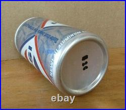 Tough 1967 Pepsi Cola Diamond Design New All Aluminum 12oz Pull Tab Soda Can