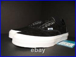 Vans Authentic 69 Pro S Black White Red Pull Tab Checkerboard Vn-0sdmba2 New 6.5