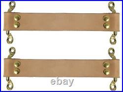 Vintage Loop Door Pull / Door Check Kit Brass Hardware