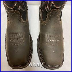 Wolverine Rancher Steel Toe Wellington Work Boots Brown W10765 Mens Size 11.5